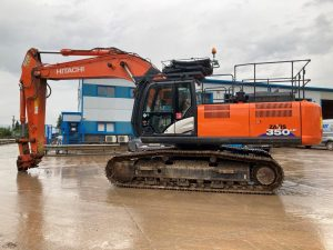Hitachi ZX 350 LC 6 excavator for sale 80413