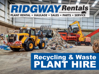 Plant Hire for Recycling and Waste Management Facilities
