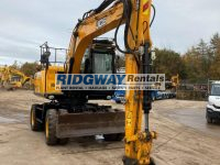 JS145W Wheeled Excavator For Sale Front View 2476059