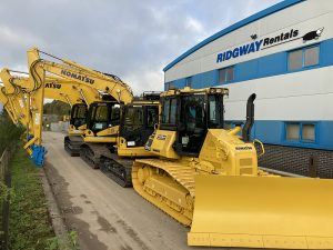 New Plant Hire Equipment Arrives at Ridgway