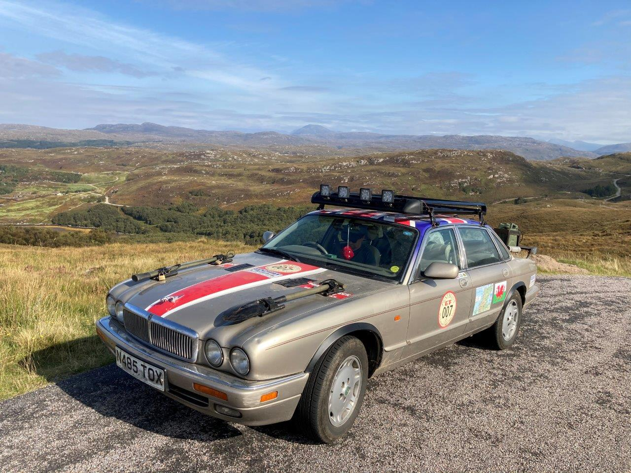 Penybont GT does the NC500 2020 somewhere in the middle of nowhere!