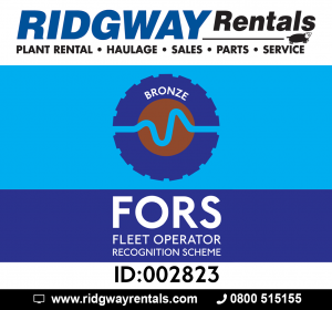 Ridgway Gains FORS Bronze Accreditation