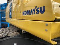 Sill protection on Large Komatsu Excavators