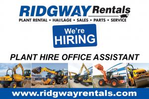 plant hire office assistant