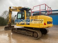 PC210 Excavator For Sale boxing ring K70349