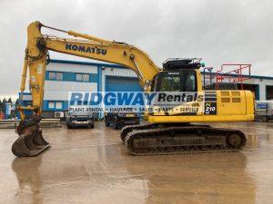 PC210 excavator for sale K70349 RR