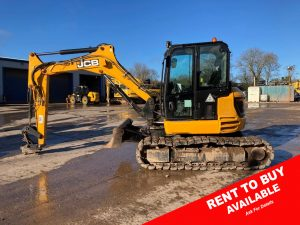9 Ton Mini Digger For Sale JCB 85 z 1073 rent2buy