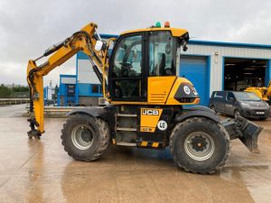 Hydradig on Floatation Tyres