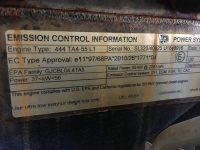 JCB 540 170 ID plate 6876
