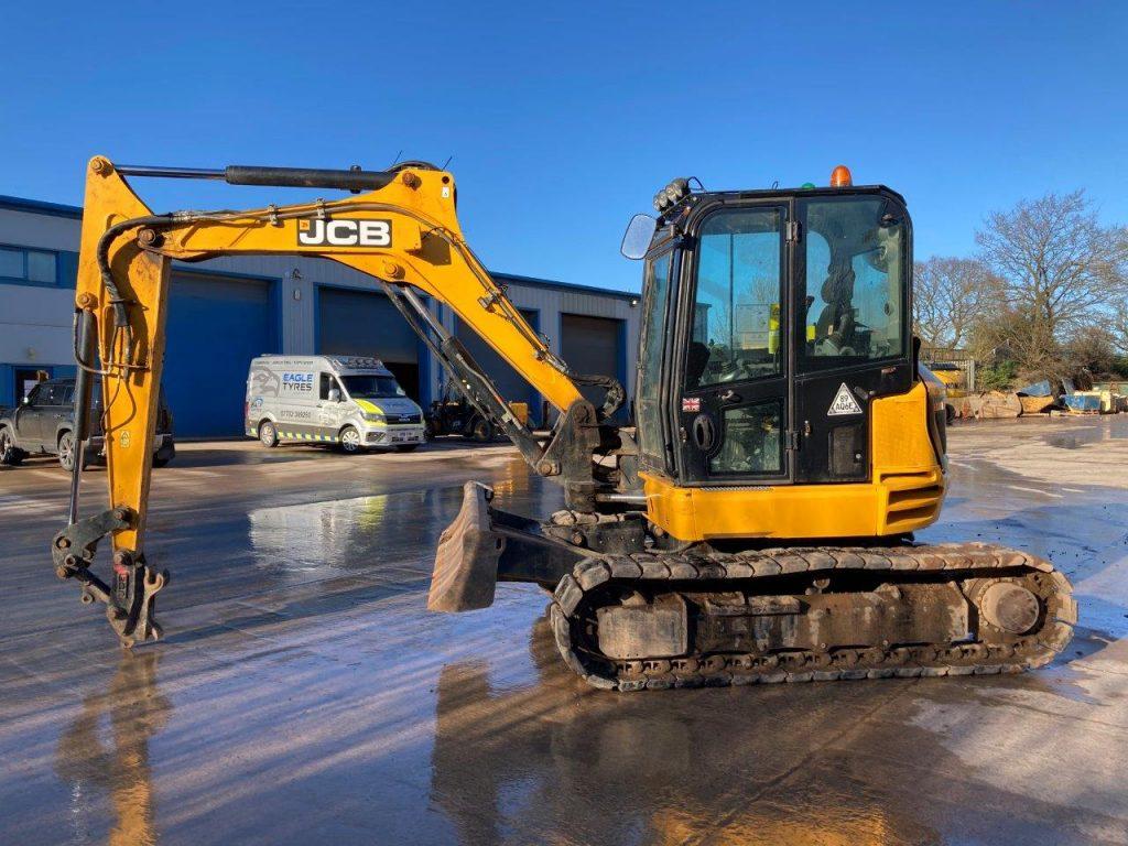 JCB 85 Z 1 8 Ton Midi Digger For Sale 1088