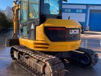JCB 85 Z 1 8 Ton Midi Digger side view 1088