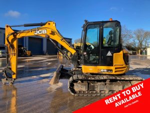 JCB Mini Digger For Sale 3353 rent2buy