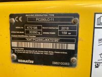 Komatsu PC290LC K70195 ID Plate