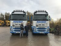 Ridgway Plant Haulage New Volvo Trucks