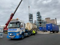 Ridgway Plant Haulage at the port