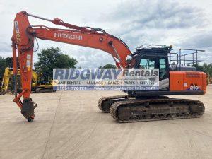 Hitachi ZX 210 Excavator 502143