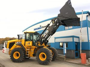 JCB 457 Wastemaster Contract Hire with Ridgway
