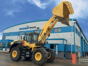 Komatsu WA380 Contract Hire waste spec