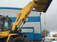 Komatsu WA380 contract hire with high reach arms