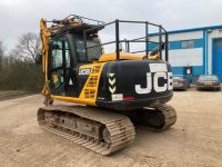 JS130 JCB For Sale 3724 rear view