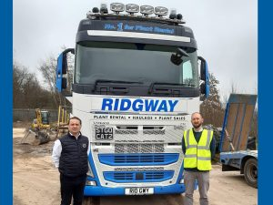 New Volvo Truck For Plant Haulage at Ridgway
