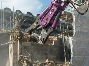 demolition attachment hire