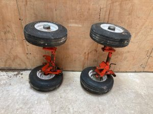 Bell 206 Ground handling wheels