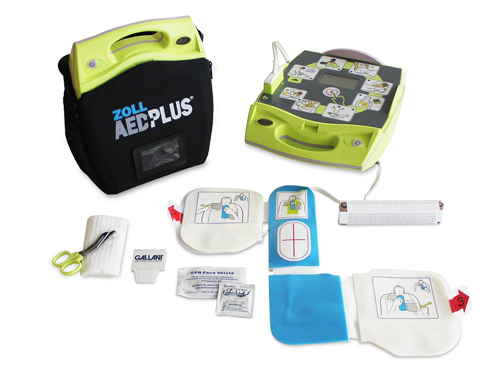 Defibrillator For Community at Ridgway!