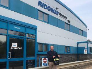 Defibrillator For Community at Ridgway!