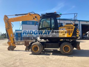 JS160W Wheeled Excavator For Sale 2143813