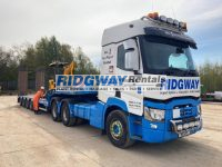 Renault Truck Faymonville Step Frame side view