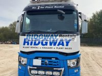 Renault double drive cab front view
