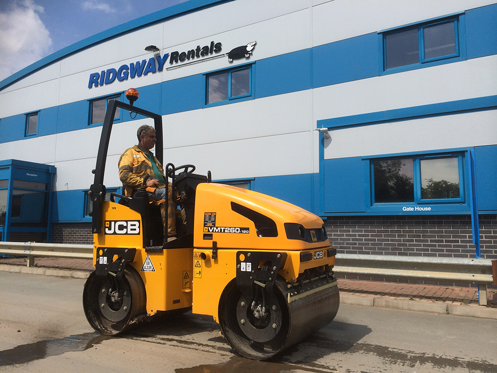 Compaction Roller Hire from Ridgway Plant Hire