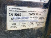 JCB VMT 260 120 7092 ID Plate