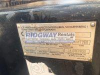 JCB Vibromax 120 4373 ID Plate