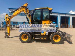 Hydradig Wheeled Excavator For Sale 96381