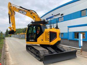 New JCB Zero Tail Swing Excavator