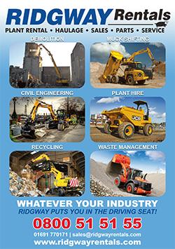Ridgway Rentals Nationwide Plant Hire Brochure