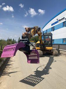 Selector Grab for 8 Ton Excavator