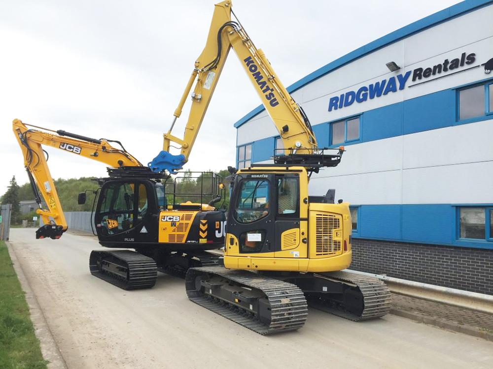13 Ton Excavator Hire at Ridgway Rentals Nationwide Plant Hire