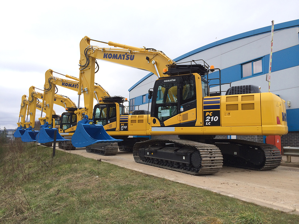 20 Ton Excavator Hire at Ridgway Rentals Nationwide Plant Hire