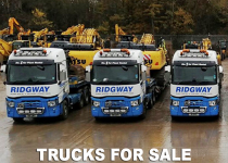 Trucks for sale from Ridgway Haulage Service